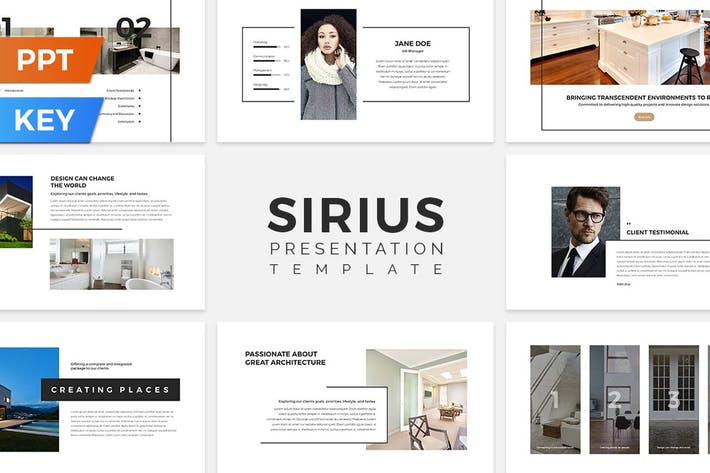 Thumbnail for Sirius Presentation Template