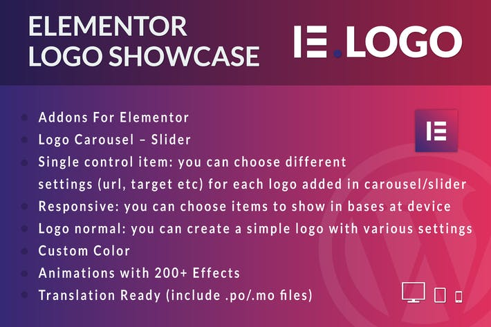 Thumbnail for Logo Showcase for Elementor WordPress Plugin