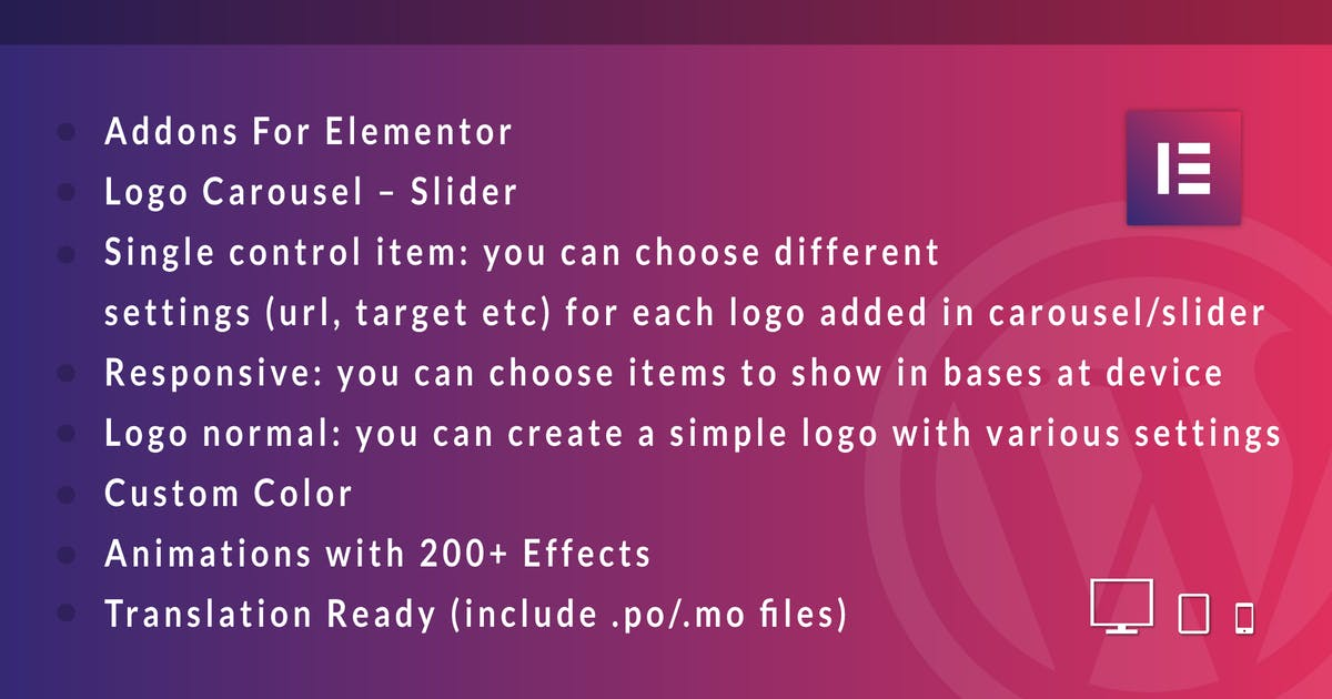 Download Logo Showcase for Elementor WordPress Plugin by ad-theme