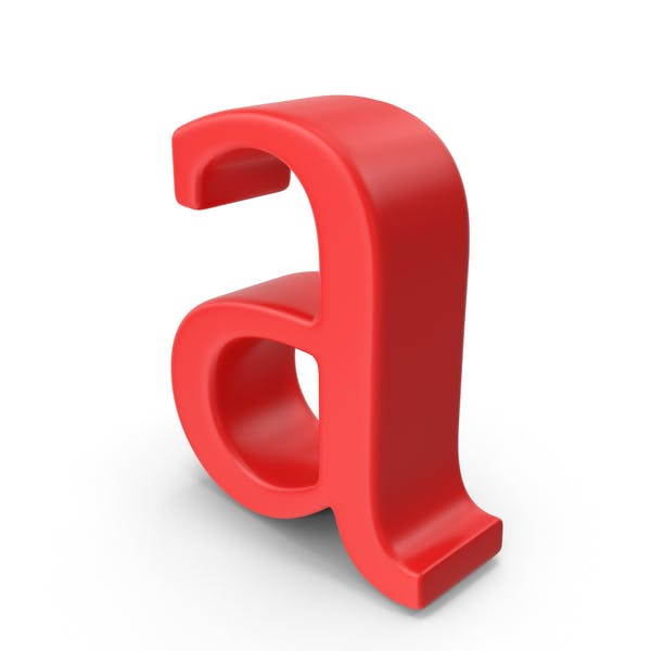Red Small Letter a