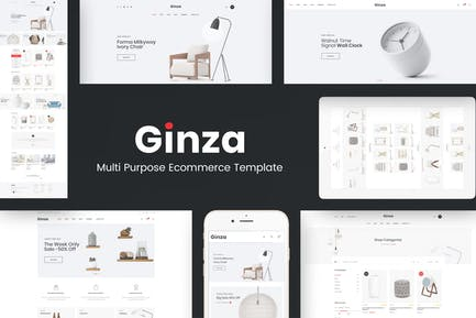 Ginza - Responsive Prestashop Tema