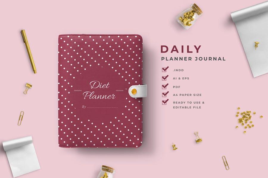 Yuki -  Dietary Planner Journal