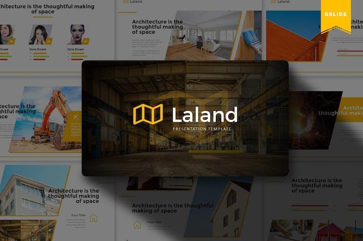 Thumbnail for Laland | Google Slides Template