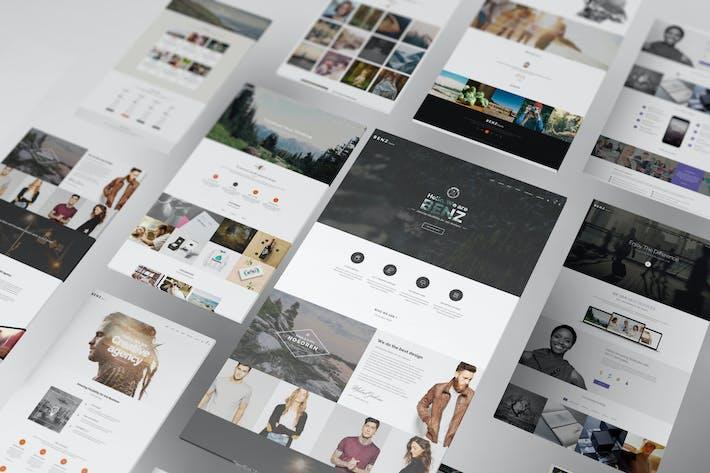 Thumbnail for Perspective Web Mockup 10