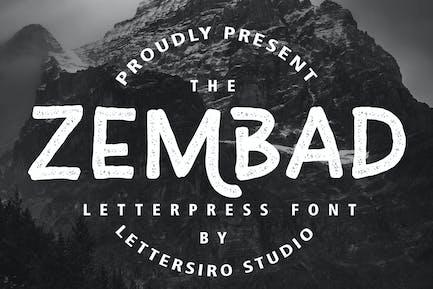 Zembad Vintage Font