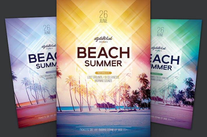 Thumbnail for Beach Summer Flyer