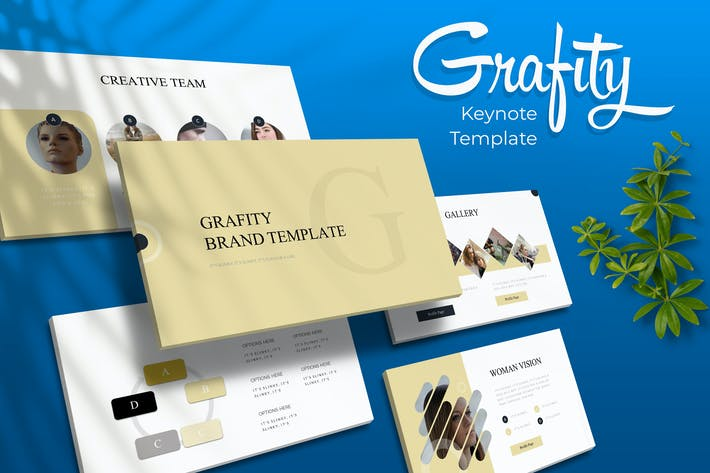 Thumbnail for Grafity - Keynote Template
