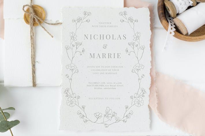 Thumbnail for Elegante Hochzeitssuite mit Blumenmuster