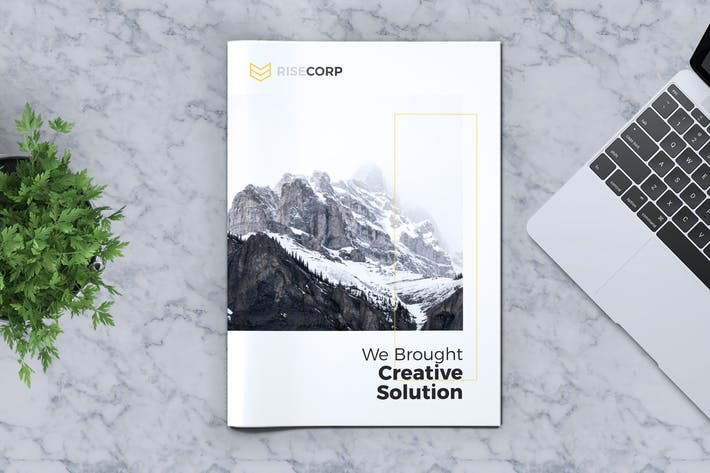 Thumbnail for Creative Brochure Template Vol. 14