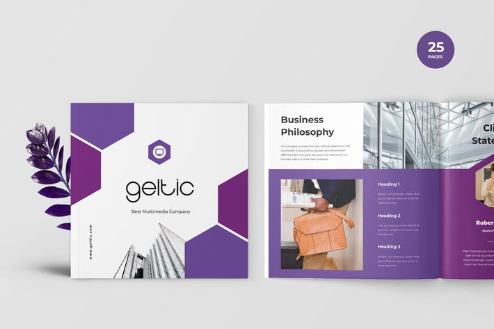 Thumbnail for Geltic - Business Portfolio Template
