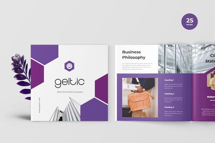 Thumbnail for Geltic - Business Portfolio Template