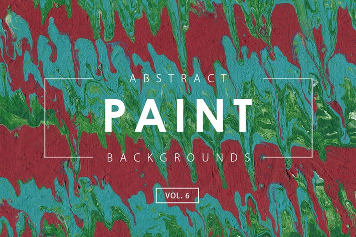 Abstract Paint Backgrounds Vol. 6