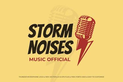 Thunder Microphone Logo