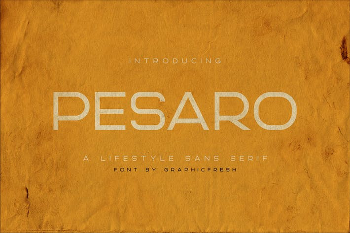 Cover Image For Pesaro | A Lifestyle Sans Serif