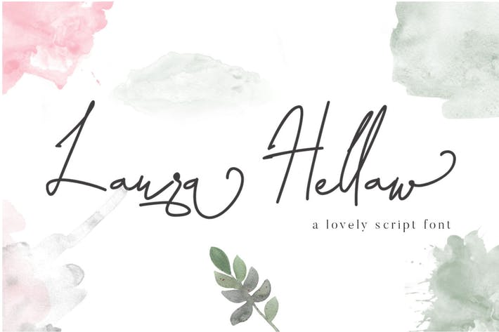 Thumbnail for Laura Hellaw Lovely Script Font