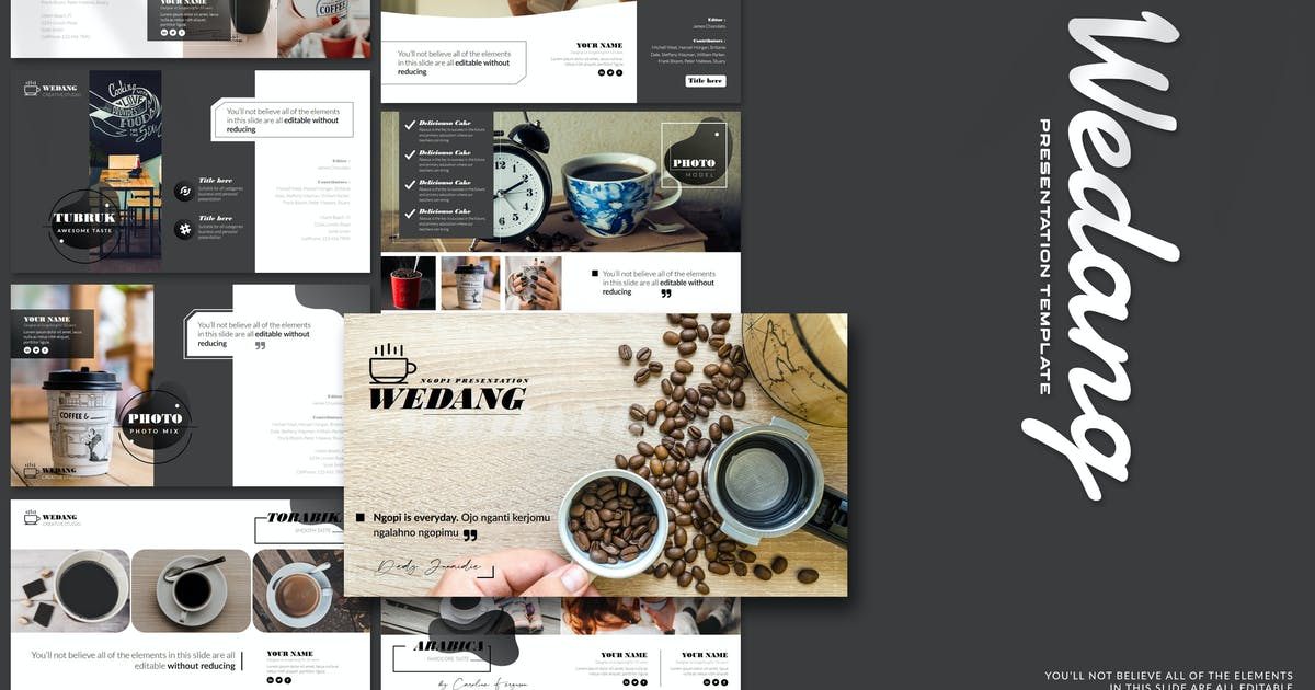 Download Wedang - Powerpoint Template by Artmonk