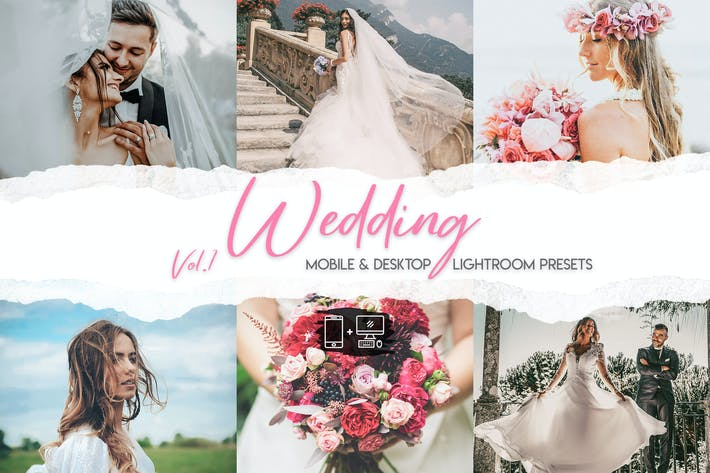 Thumbnail for Wedding Lightroom Presets Vol. 1
