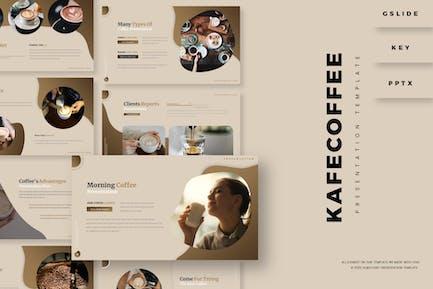 Kafe Coffee - Шаблон презентации