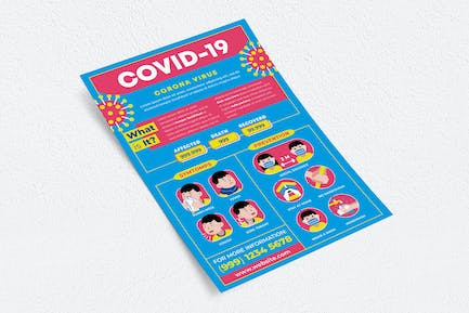 Covid-19 Pandemic Flyer