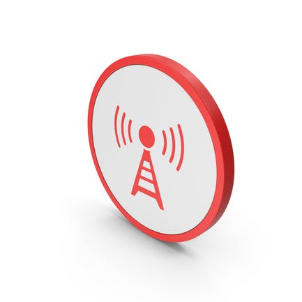 Icon Antenna Red