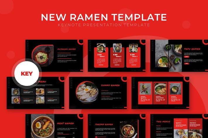 Thumbnail for New Ramen - Keynote Template