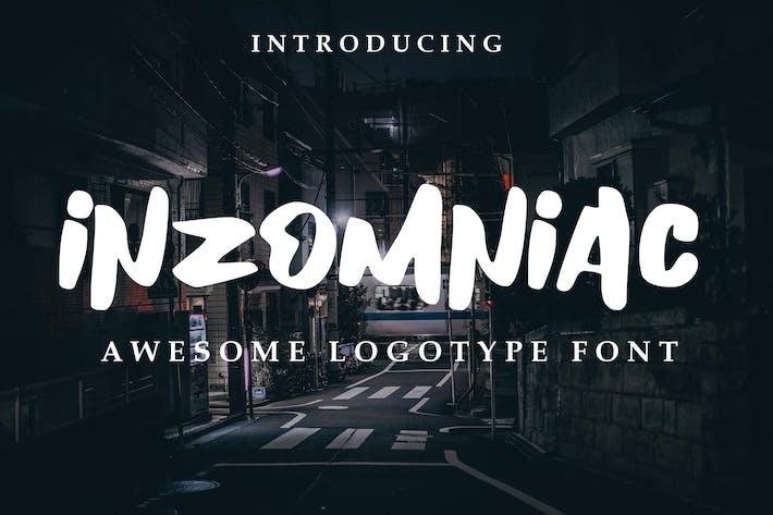 Thumbnail for Inzomniac Logotype Font