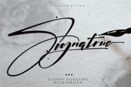Signatrue