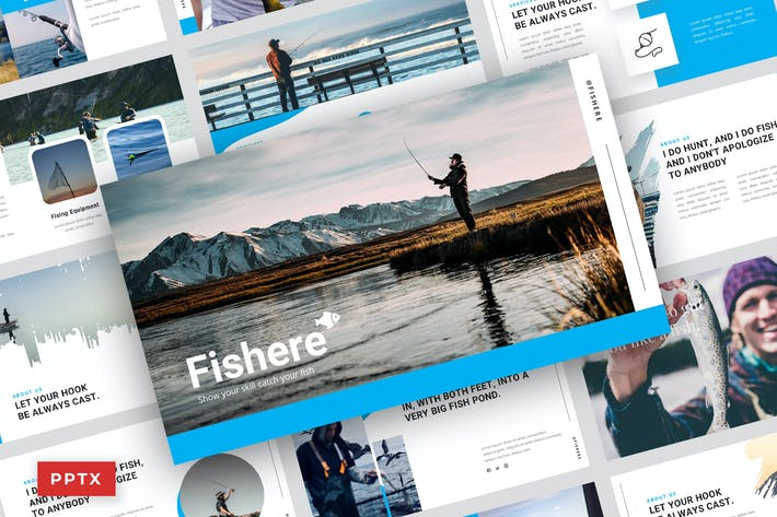 Thumbnail for Pisher - Powerpoint Template