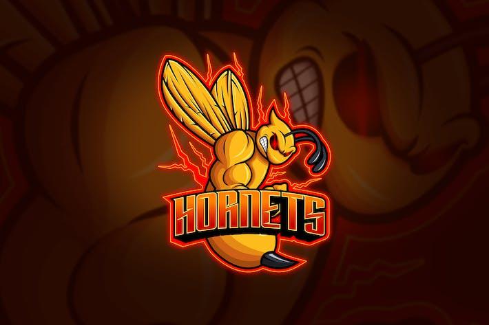 Thumbnail for Hornets - Mascot & Esport Logo
