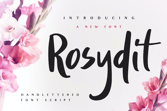 Thumbnail for Rosydit - Handlettered Script Font