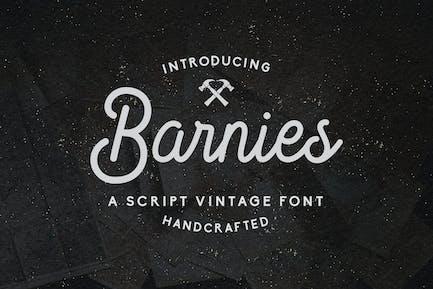 Barnie's – Handcrafted Vintage Script