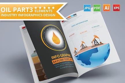 Oil Energy Infographics Design
