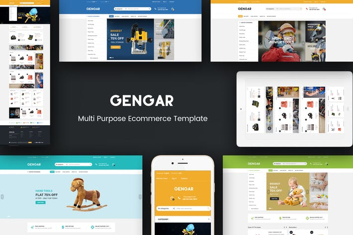 Thumbnail for Gengar - Responsive Magento 2 Theme