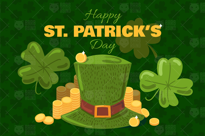 Thumbnail for St. Patrick's Day Greeting Banner