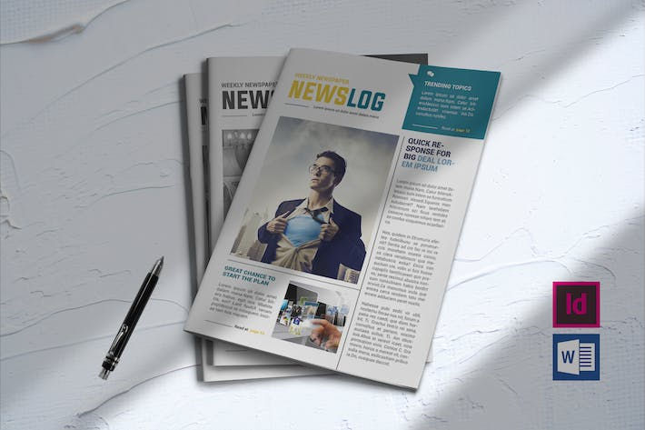 Cover Image For Newsletter Template