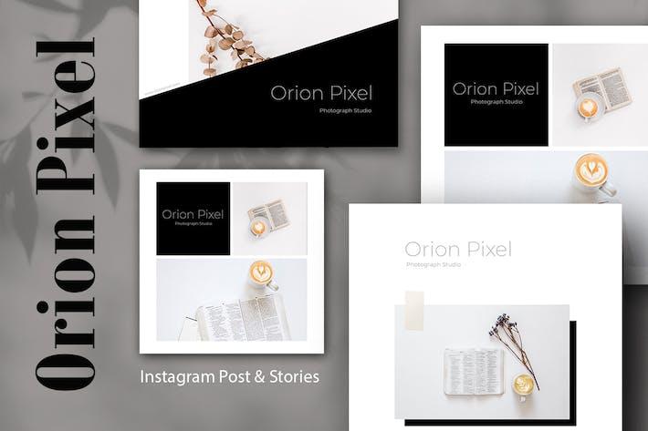 Thumbnail for Orion Pixel Instagram Post & Stories