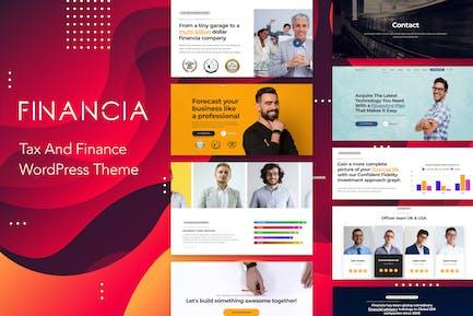 Financia - Tax and Finance WordPress Theme