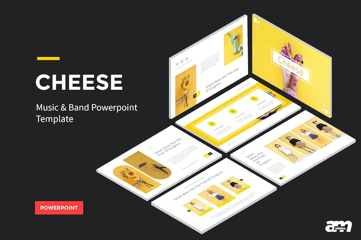 Thumbnail for Cheese PowerPoint
