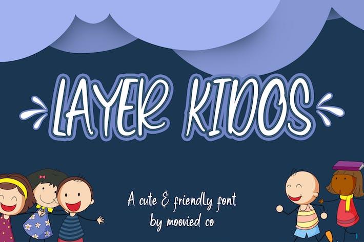 Layer Kidos Kids Font