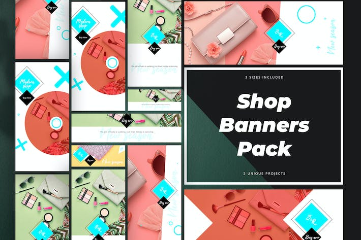 Thumbnail for Shop Banners Pack