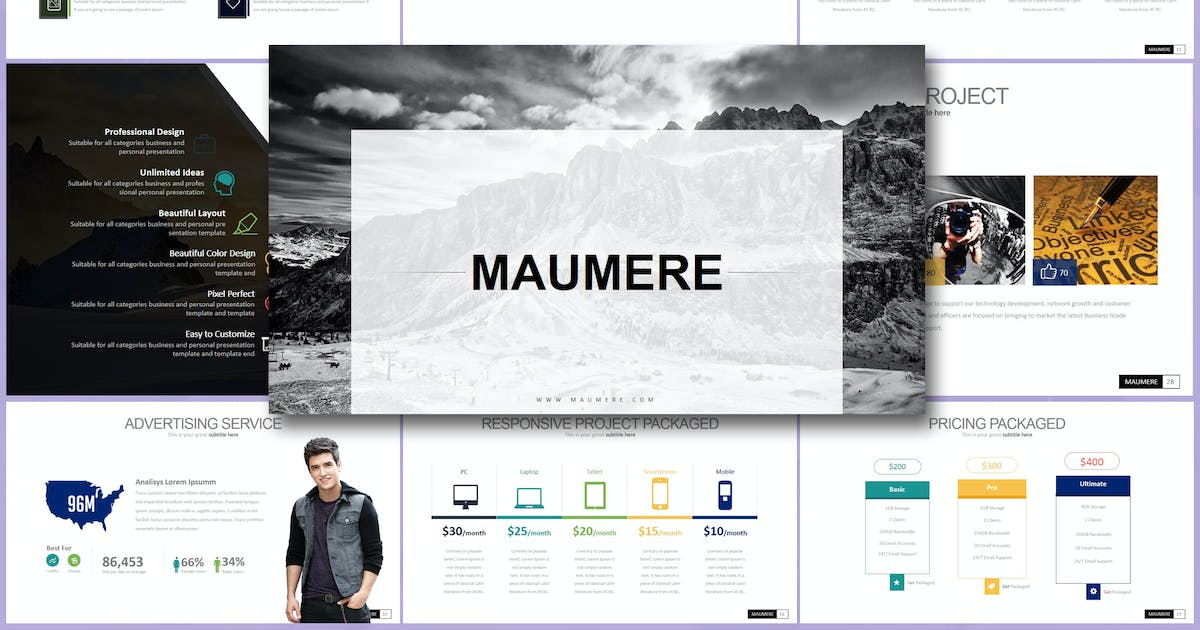 Download MAUMERE Powerpoint by Artmonk