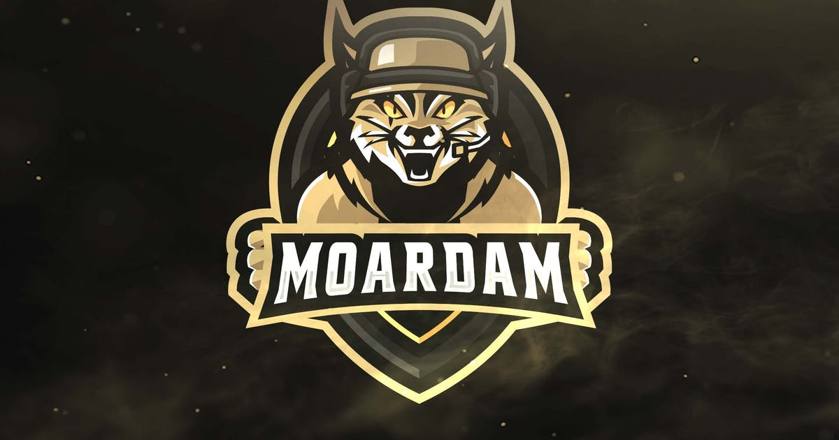 Download Cat Warrior Sport and Esports Logos by ovozdigital