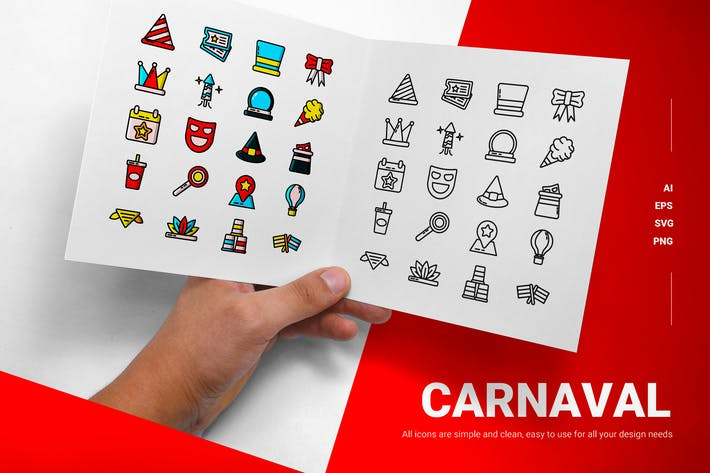 Carnaval - Icons