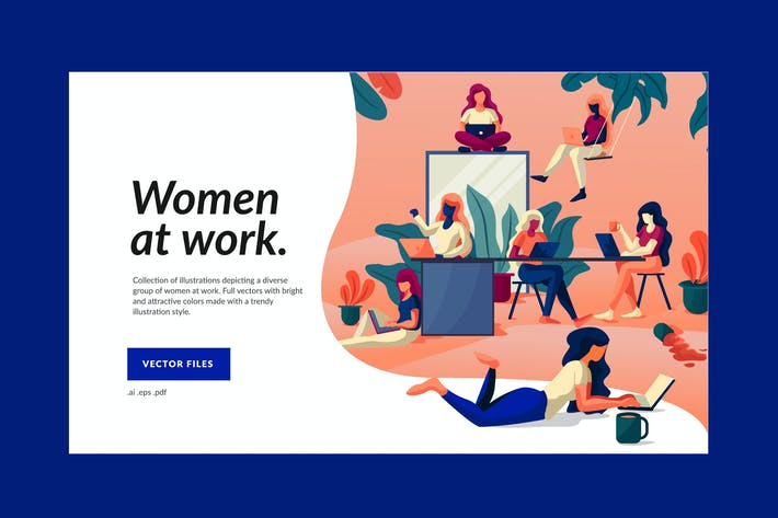 Thumbnail for Working Women Illustration
