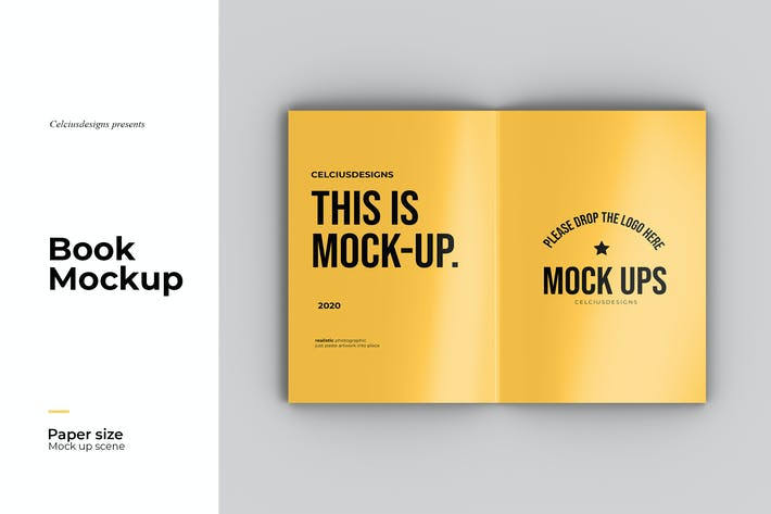 Spread - Magazine Mockup