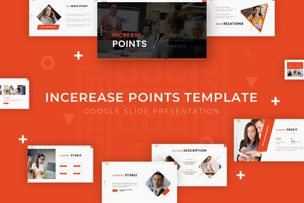 Increase Points - Google Slide Template