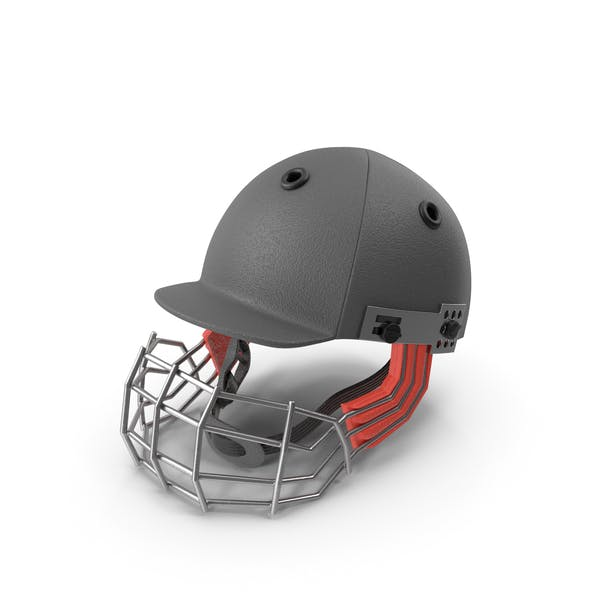 Cricket Helmet Black