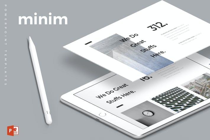 Thumbnail for Minim - Powerpoint Template