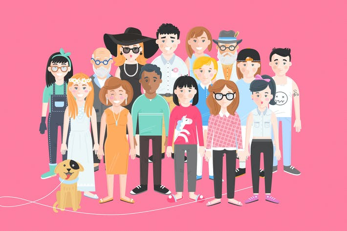 Cover Image For Vector Characters Builder