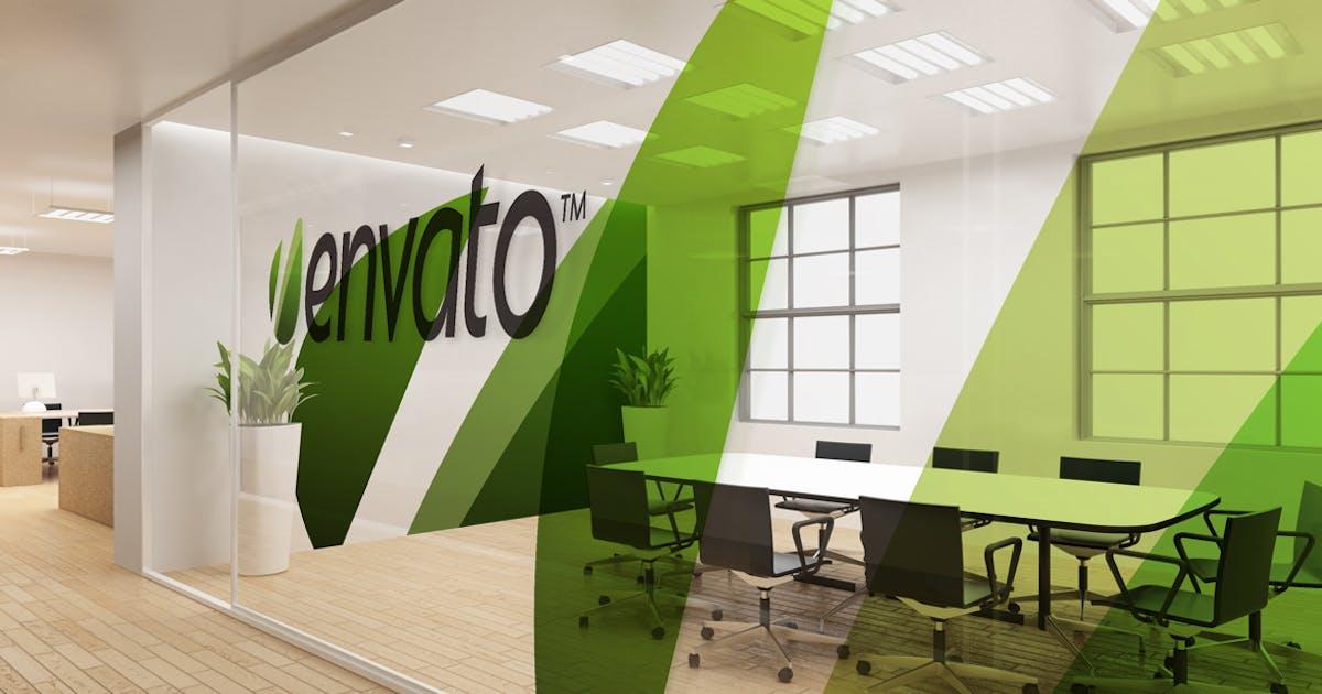 Download Office Interior Branding Mockups by Wutip